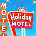 Holiday Motel Las Vegas by Wingsdomain Art and Photography