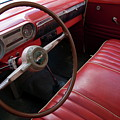 Interior Of A Classic American Car by Sami Sarkis