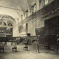 Interior Of The Dining Hall Of The Church Of Santa Maria Delle Grazie Milan by Alinari
