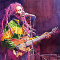 Jammin - Bob Marley by David Lloyd Glover