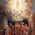 Jesus Ascending Into Heaven by William Brassey Hole