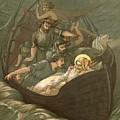 Jesus Sleeping During The Storm by John Lawson