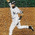 Jeter Walk-off Mosaic by Paul Van Scott