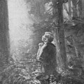 Joseph Smith Praying In The Grove by Lewis A Ramsey