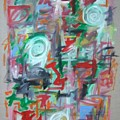 Large Abstract No 2 by Michael Henderson