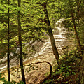 Laughing Whitefish Falls 2 by Michael Peychich