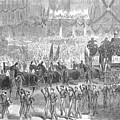 Lincolns Funeral, 1865 by Granger