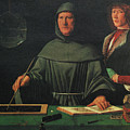 Luca Pacioli, Franciscan Friar by Science Source
