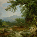 Monument Mountain - Berkshires by Asher Brown Durand