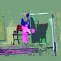 Morning In Her Pink Pajamas by Lenore Senior