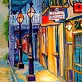 Morning In The French Quarter by Marcia Baldwin