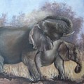 Mother And Child by Nellie Visser
