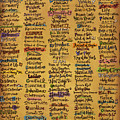 Names Of God - Inspirational Scripture Painting by Annie Laurie