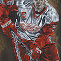 Nicklas Lidstrom by David Courson