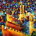 Old Jerusalem by Leonid Afremov