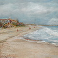 Old Orchard Beach by Joyce A Guariglia