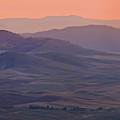 Palouse Morning From Steptoe Butte by Donald E. Hall
