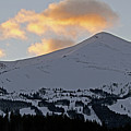 Peak 8 At Dusk - Breckenridge Colorado by Brendan Reals