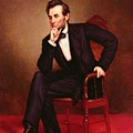 Portrait Of Abraham Lincoln by George Peter Alexander Healy