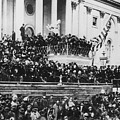 President Lincoln Gives His Second Inaugural Address - March 4 1865 by International  Images