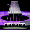 Purple Guitar 15 by Andee Design