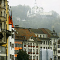Rainy Day In Lucerne by Linda  Parker