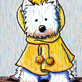 Rainy Day Westie by Kim Niles