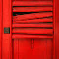 Red Shutter by Timothy Johnson