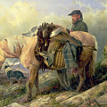 Returning From The Hill by Richard Ansdell