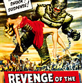Revenge Of The Creature, 1955 by Everett