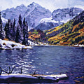 Rocky Mountain Serenity by David Lloyd Glover