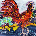 Rooster In The Morning by Carol  Law Conklin