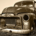 Rusty But Trusty Old Gmc Pickup by Gordon Dean II