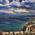 Scenic View Of Eastern Crete by David Smith