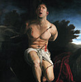 Self Portrait As St. Sebastian by Eric  Armusik