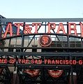 Sf Giants Stadium by Kathleen Fitzpatrick