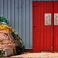 Shed Doors And Tangled Nets by Louise Heusinkveld