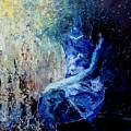 Sitting Young Girl by Pol Ledent