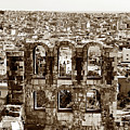 Six Arches In Athens by John Rizzuto