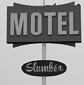 Slumber Motel Merced Ca by Troy Montemayor
