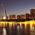 St Louis Skyline by Bryan Mullennix