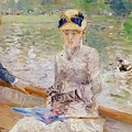 Summers Day by Berthe Morisot