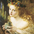 Take The Fair Face Of Woman by Sophie Anderson