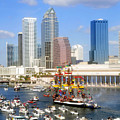 Tampa's Flag Ship by David Lee Thompson