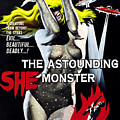 The Astounding She-monster, 1-sheet by Everett
