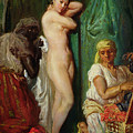 The Bath In The Harem by Theodore Chasseriau