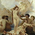 The Birth Of Venus by William-Adolphe Bouguereau