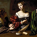 The Conversion Of The Magdalene by Michelangelo Merisi da Caravaggio