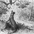 The Crow And The Fox by Gustave Dore
