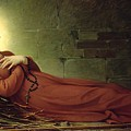 The Death Of Germaine Cousin The Virgin Of Pibrac by Alexandre Grellet